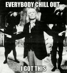 One. The First Doctor. William Hartnell.