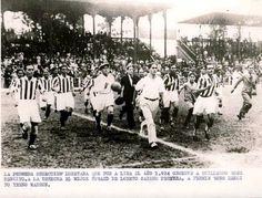 Primera selección loretana de fútbol en 1934