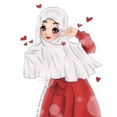 Beautiful Muslimah Hijab Girl 10 by Mylucidheartwork on DeviantArt Fairy Tail Erza Scarlet, Photography Movies, Anime Muslim, Hijab Cartoon, Boy Gif, Boy Drawing, Beautiful Muslim Women, Islamic Girl, Muslim Girls