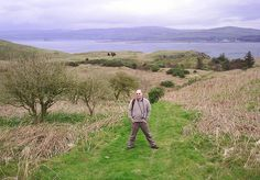 On the island of Little Cumbrae.  Sometimes known as 'Wee Cumbrae'. I went there for the day with my family.  t is now owned by a religious sect.