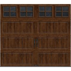 To do soon on pinterest garage doors carriage style for R value of wood garage door