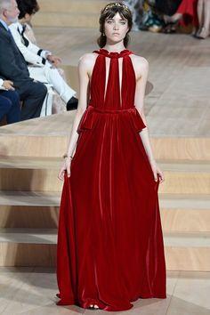 Valentino Fall 2015 Couture Fashion Show - Grace Hartzel