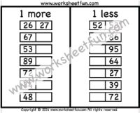 Addition – 10 more / FREE Printable Worksheets – Worksheetfun Free Printable Math Worksheets, Handwriting Worksheets, Kindergarten Math Worksheets, Teaching Math, Free Printables, Maths, Preschool Math, Adding And Subtracting, First Grade Math