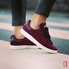 Adidas Stan Smith Suede by @porta188 . . . #gomf #girlsonmyfeet