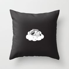 Bliss Throw Pillow by AGRIMONY // Aaron Thong   Society6