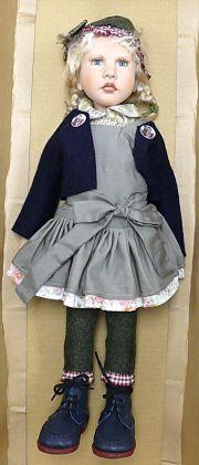 """ZWERGNASE Dolls lizzie 17.6"""" $900"""
