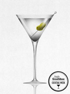 We present the classic gin martini recipe—and three creative riffs on the basic recipe.