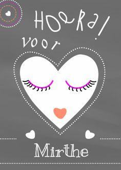 Leuke #verjaardagskaart voor een tienermeisje. #meisje #kaart