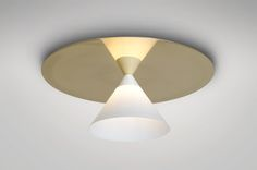 Plate and Cone   ceiling light   lighting   Areti