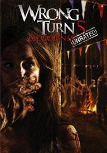 """The Wrong Turn series of films have continued since the turn of the century. They continue in this fourth sequel with a tale of cannibals participating in the Mountain Man Music Festival. They are not there for the music. Instead, they start murdering festival goers as they try to retake their town from """"normal folk."""" This is a bloody film that will likely be followed by another sequel from director Declan O'Brien."""