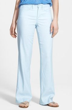 NYDJ 'Wylie' Five-Pocket Colored Stretch Trousers available at #Nordstrom