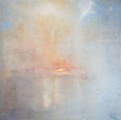 "Saatchi Online Artist: pete cernis; Oil, 2012, Painting ""Sunrise before Venice """