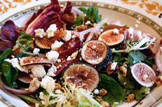 Italian Food Forever » Fig, Prosciutto & Goat Cheese Salad