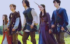 The Chronicles of Narnia – Prince Caspian (2008) Starring: Georgie Henley as Lucy, William Moseley as Peter, Ben Barnes as Prince Caspian, Anna Popplewell as Susan and Skandar Keynes as Edmund.