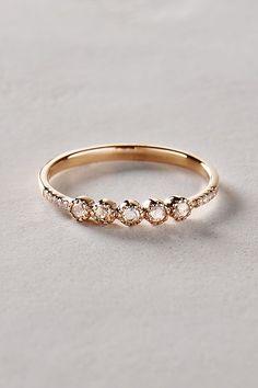 Be like a diamond, strong and beautiful. // memorial diamond // cremation diamond // ashes to diamond (image source: anthropologie.com)