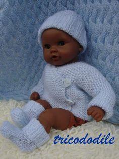 81 meilleures images du tableau Tricot poupons 30cm   Knitting for ... 5a3c82594020
