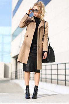 Modest Black Skirt