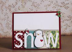 snow card.