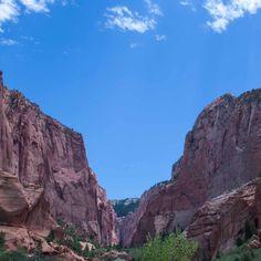Kolob Canyon at Zion National Park