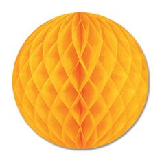 Tissue Ball golden-yellow Party Decoration (24ct)