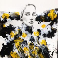 ss #fashionillustration#fashion #fashiondrawing #texture #instaart #inspiration #illustration #pencil #painting#acrylic #artwork #avantgarde #androgynous #andro #skin #drawing #karnkarnillustration