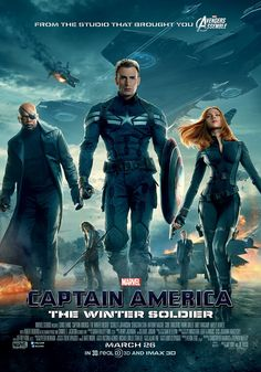 The second of two new posters for Captain America: The Winter Soldier