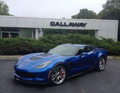 Z06-based Callaway Corvette SC757