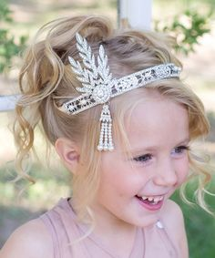 Look what I found on #zulily! Vintage Inspired Square Rhinestone Headband by Sweet Charlotte #zulilyfinds