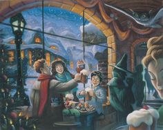 Encontrado em http://www.buzzfeed.com/ellievhall/16-rare-harry-potter-illustrations-from-the-books-artist#.yqrd65gdV