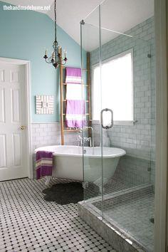 bath before and after, bathroom ideas, diy, home decor, lighting, small bathroom ideas, tiling My DREAM bathroom!
