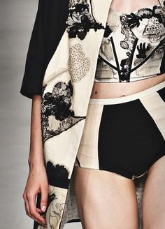Marc Jacobs Resort 2013 - because what's beautiful spring living without some beautiful new lingerie? #smpliving