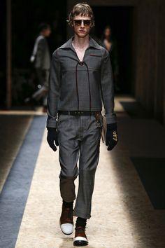 Prada Fall 2016 Menswear Fashion Show