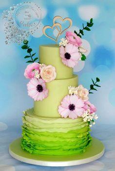 Wedding Cake by Beata Khoo