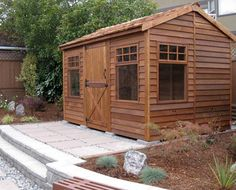 Cedarshed Haida DIY Cabin Kits Are Available In 3 Sizes. These Small Cedar  Cabins Make A Perfect Backyard Studio Shed And Include Plans.