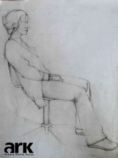 Desen Çalışması, Karakalem figür çizimi, Charcoal Figure Drawing, Figure Sketch Art http://ankararesimkursu.net: