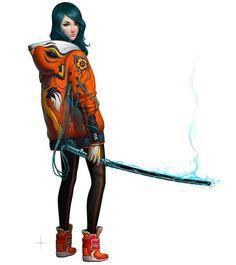 Kitsune  by Adrian Dadich