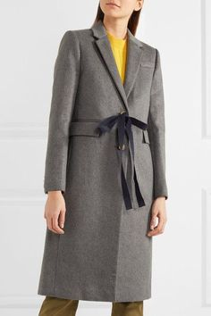 J.Crew - Collection Olivia Wool And Cashmere-blend Coat - Gray - US2