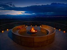 If you're looking to put a little spark in your romance, we've rounded up some of the most magnificent fire pits from the slopes to the shores.
