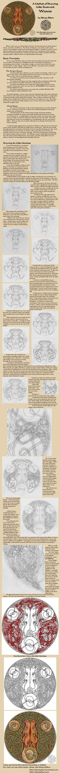 Drawing Celtic Knots - Weaves by =sidneyeileen on deviantART