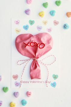 DIY -Conversation Heart Balloons + Free Printable Valentines + Bonus Ideas for Printables ( Very Cute Stuff!)