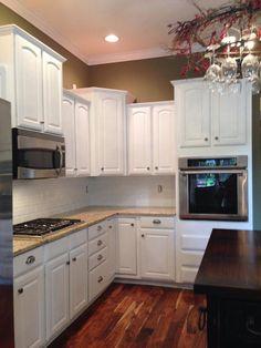 http://vintagefuniturepaintinc.com  #kitchen #cabinets #paint