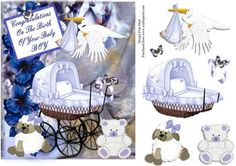 Little Boy Blue on Craftsuprint designed by Frances Dent - This baby boy announcement design comes with one approx A5 base layer, five step by step pieces and a sentiment. Thank you for looking at my design. Please take a moment to look at my other designs by clicking on my name. Enjoy. - Now available for download!