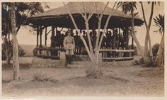 Mac Dougal with Native KAR Band, Bombo Uganda  c1920