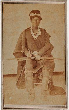 Navajo man - 1868