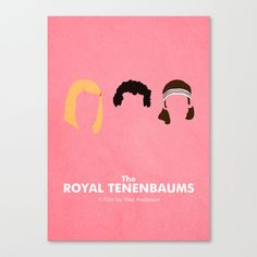 The Royal Tenenbaums Stretched Canvas by Chay Lazaro | Society6