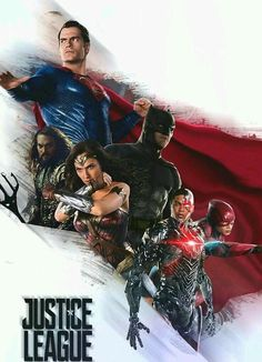 Justice League Movie Poster 2017 Featuring The Entire DCEU Justice League to Date, See all 19 Justice League Easter Eggs and Missed Details - DigitalEntertainmentReview.com