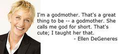 Ellen is always on her A game.
