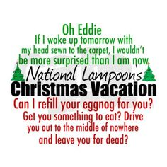 Funny movie quotes from National Lampoon's Christmas Vacation. I love those Griswold family characters, especially Clark and his sense of humor for the holidays. Family Vacation Quotes, Christmas Vacation Quotes, Best Family Vacations, Christmas Movies, Christmas Humor, Christmas Fun, Holiday Fun, Vacation Ideas, Vacation Games