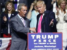 Trump wants Farage to represent UK in US but May says no