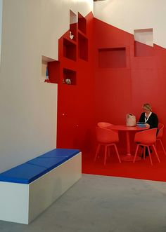 Clever use of colour. Euroshop Duesseldorf 2017